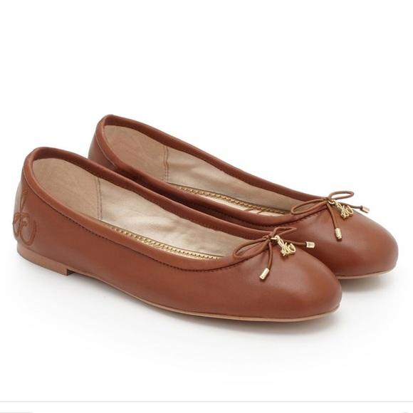 db6f535b22b Sam Edelman Shoes - Sam Edelman Felicia flats saddle brown 8.5